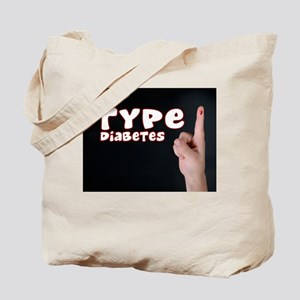 Type 1 diabetes Tote Bag