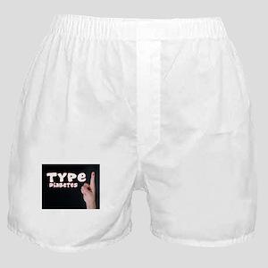 Type 1 diabetes Boxer Shorts