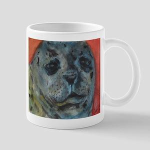 Abstract Leopard Seal Mug