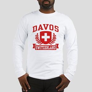 Davos Switzerland Long Sleeve T-Shirt