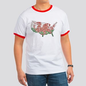 Welsh Place Names America Map Ringer T