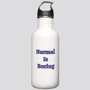 Normal is Boring Stainless Water Bottle 1.0L