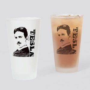 Tesla Fan Drinking Glass
