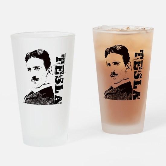 Tesla Fan Drinking Glass