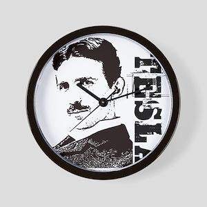 Tesla Fan Wall Clock