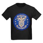 USS LAWRENCE Kids Dark T-Shirt