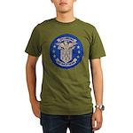 USS LAWRENCE Organic Men's T-Shirt (dark)