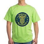 USS LAWRENCE Green T-Shirt