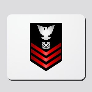 Navy Boatswain's Mate First Class Mousepad