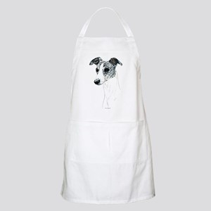 Brindle Whippet BBQ Apron
