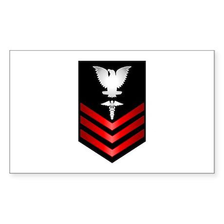 Navy Corpsman First Class Sticker (Rectangle)