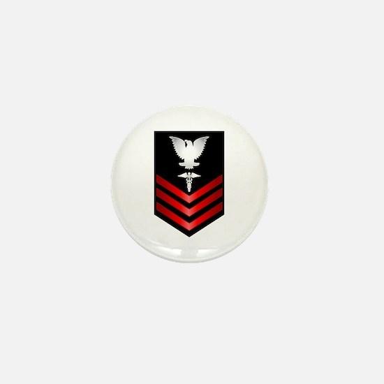 Navy Corpsman First Class Mini Button