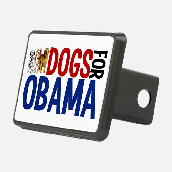 Dogs for Obama Hitch Cover