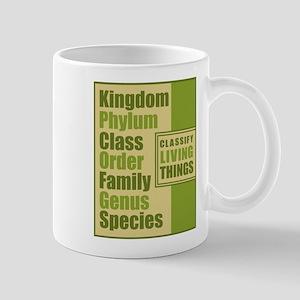 Classification of Living Things Mug