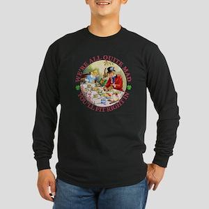 WE'RE ALL MAD - RENE CLOK Long Sleeve Dark T-Shirt