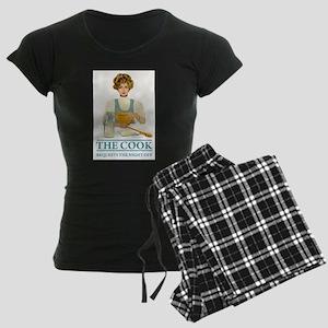 THE_COOK_NIGHT_OFF Women's Dark Pajamas