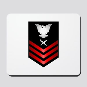 Navy Cryptologic Technician First Class Mousepad