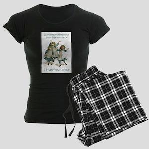 Baby April HOPE YOU DANCE Women's Dark Pajamas