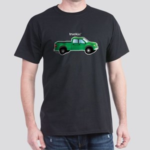 Truckin Black T-Shirt