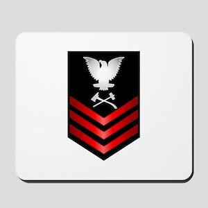 Navy Damage Controlman First Class Mousepad