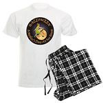 modern witch clock copy.png Men's Light Pajamas