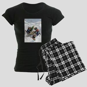 cat 1_FINAL Women's Dark Pajamas
