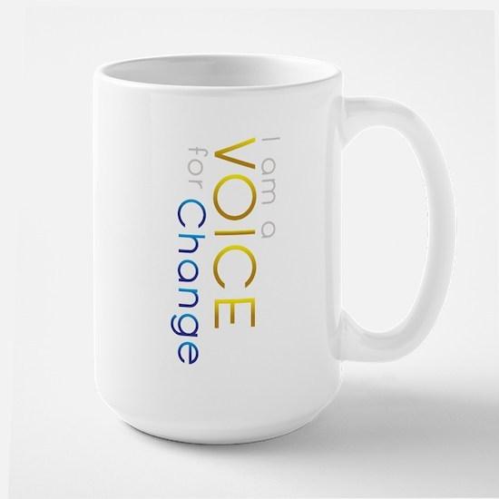 Empowering Change Large Mug