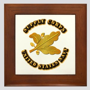 Navy - Supply Corps Framed Tile