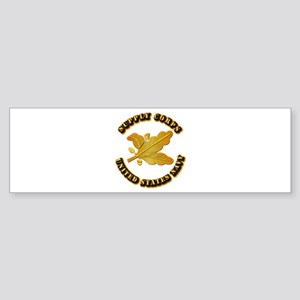 Navy - Supply Corps Sticker (Bumper)