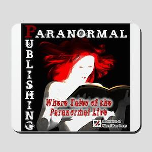 Paranormal Publishing log Mousepad