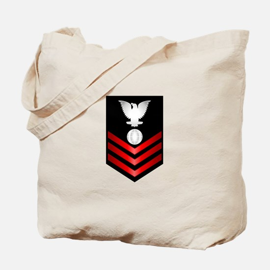 Navy Electrician's Mate First Class Tote Bag