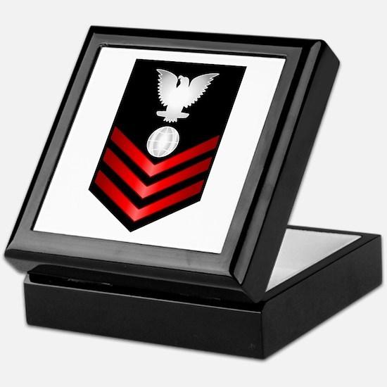 Navy Electrician's Mate First Class Keepsake Box