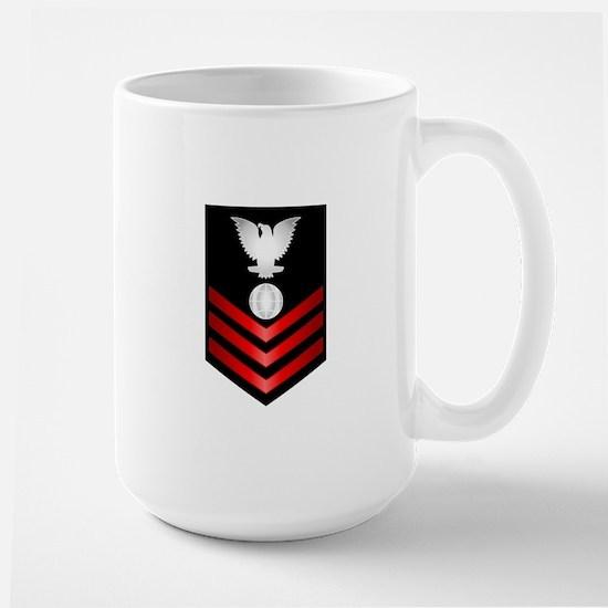 Navy Electrician's Mate First Class Large Mug