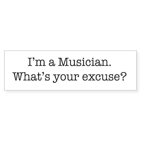 I'm a Musician Bumper Sticker