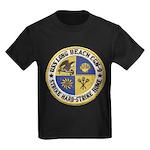 USS LONG BEACH Kids Dark T-Shirt