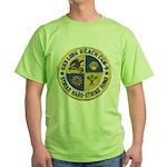 USS LONG BEACH Green T-Shirt