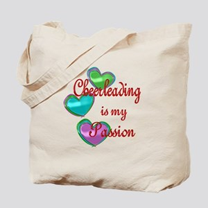 Cheerleading Passion Tote Bag