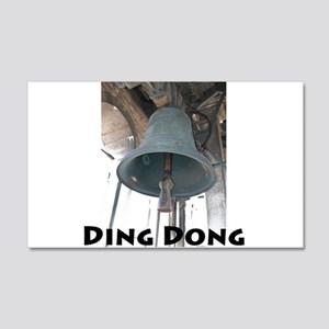 Ding Dong 20x12 Wall Decal