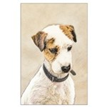 Parson Jack Russell Terrier Large Poster