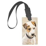 Parson Jack Russell Terrier Large Luggage Tag