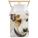 Parson Jack Russell Terrier Twin Duvet Cover