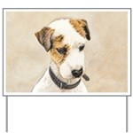 Parson Jack Russell Terrier Yard Sign