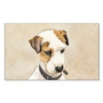 Parson Jack Russell Terr Sticker (Rectangle 50 pk)