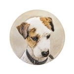 Parson Jack Russell Terrier Button