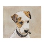 Parson Jack Russell Terrier Throw Blanket