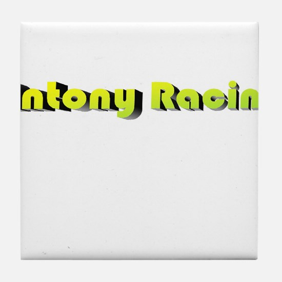 Antony Racing Logo Tile Coaster