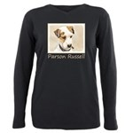 Parson Jack Russell Terr Plus Size Long Sleeve Tee
