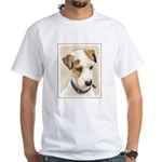 Parson Jack Russell Terrier White T-Shirt
