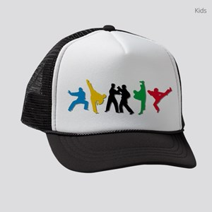 Tae Kwon Do Kicks Kids Trucker hat