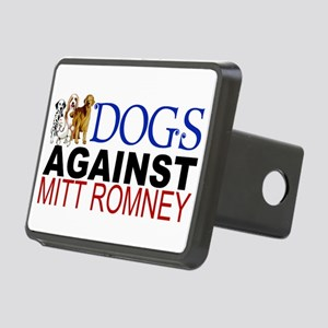 Dogs Against Mitt Romney Rectangular Hitch Cover